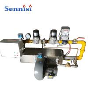 China Horizontal Aluminum Profile 529 Kg Powder Coating Gas Burner on sale