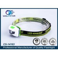 Popular ABS Material LED Headlamp with White and Red LED for Promotion Manufactures