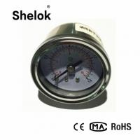 China Spiral tube 40mm 304SS oil back connection pressure gauge mpa kg and psi on sale