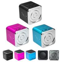 Wireless Portable Mini Digital Speaker With FM Micro SD / TF Card Manufactures