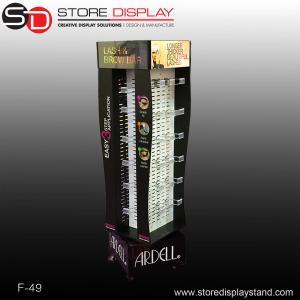 customized eyelash foursise display stand Manufactures