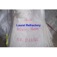 China Unshaped Refractory Mortar Series , Basic / Acidic Refractories on sale