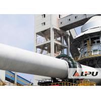 Wet And Dry Process Cement Rotary Kiln in Cement Plant , Cement Kiln 55kw Manufactures