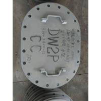 Manhole Marine Hatch Cover , Small Steel Hatch Covers For Ships Vessel Manufactures