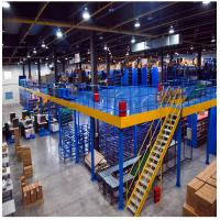 Medium - Duty Attic Rack Supported Mezzanine Floor For Warehouse / Factory Manufactures