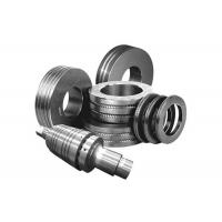 Impact Resistance Steel Guide Rollers , Groove Surface Tungsten Carbide Parts Manufactures