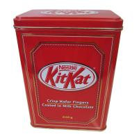 Custom Printed Metal Tin Containers / Rectangular Tin Can For Package Manufactures