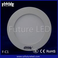 Hot Sale round White LED Panel in 3W/4W/6/9W LED Panel Lighting Manufactures