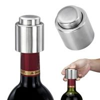 Food Grade Stainless Steel Classic Champagne Beer Wine Sealer Fresh Preservation Vacuum Bottle Stopper Kits Manufactures