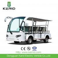 CE Approved 48V 8 Passengers Electric Tour Bus For Hotel / Club / Resort Manufactures