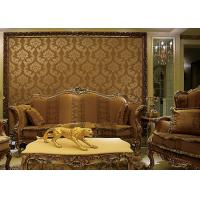 European Style Wet Embossing peel and stick wall covering 0.685*8.32M Different Colors Manufactures