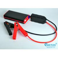 China Built - in Micro USB Cable Multi Function Car Jump Starter Power Bank 12000mAh on sale