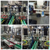 Professional Bottle Capping Equipment Four Wheel Pinch  Digital Display