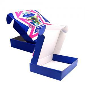 Custom Luxury Logo Corrugated Paper Box Bottle Packing With High Durability