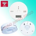 Battery powered portable fire alarm CO (carbon monoxide) gas detector with buzzer Manufactures