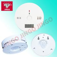 Battery powered portable fire alarm CO (carbon monoxide) gas detector with buzzer Manufactures