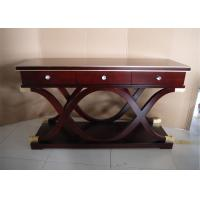 Classical Style Solid Wood Console Table For Restaurant And Home Manufactures