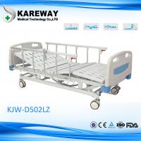 Detachable Remote Control Electric Hospital Bed , Home Care Beds With Central Locking Casters Manufactures