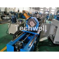 Cold Rolling Forming Machine For Making Top Hat Channel / Furring Channel Profiles Manufactures