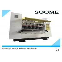 Corrugated Thin Blade Slitter Scorer Machine Fast Changing Order Within 1 To 5 Seconds Manufactures
