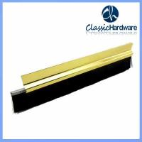 China nylon door sweep seal brush on sale