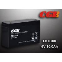 China CB640 Alarm Lighting Backup 6v 10ah Battery Non Spillable Maintenance Free on sale