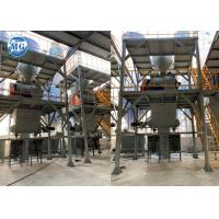 Automatic Dry Mortar Production Line 10 - 20t/H Ceramic Tile Making Plant Manufactures