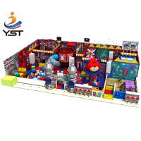 China Funny Indoor Playground Flooring , Cute Soft Play Equipment For Home Use on sale