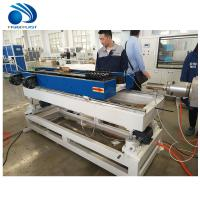 China CE Plastic Pipe Manufacturing Machine Conduit Corrugated Tube Making on sale