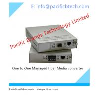 Buy cheap 1000M One to One Managed GE Fiber Media Converter from wholesalers