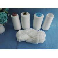 100% Polyester Spun Yarn 52/3 50/3 Virgin Semi - Dull Or Bright Fiber On Hank Polyester Yarn Manufactures