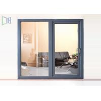 CNC Cutting Aluminium Casement Windows Invisible Mosquito Screen 50 / 55 Series Manufactures