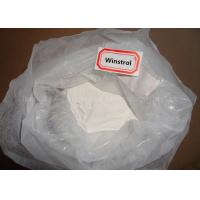 White Solid Oral Winstrol Anabolic Steroids Stanozolol Powder CAS 10418-03-8