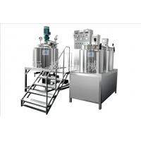 Fixed vacuum homogenizing emulsifier Manufactures