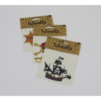 Head card packaging for temporary tattoo Manufactures