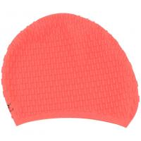 Elasticity Silicone Swim Cap With Ear Pockets , Soft Swimming Hats 190 * 190 Mm Dimensions Manufactures