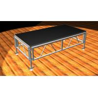8ft X 4ft mm Portable Stage Platform Stage Black / Brown Aluminum Stage Truss Manufactures