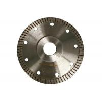 Super Thin 115mm Tile Cutting Disc , Turbo Rim Diamond Blade Smooth Cutting Manufactures