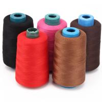 China Mix Nylon Sewing Thread , Poly Core Spun Sewing Silk Thread For Weaving on sale