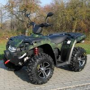 Oil Cooled 400cc Four Wheel Atv Double / Single A - Arm With Aluminum Rim Electric Shift Manufactures