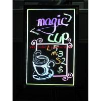 Fluorescent led writing board (ZD46AS) Manufactures