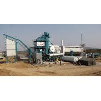 China Fixed Type Asphalt Batching Plant 2 Stage Duster 50T Hot Aggregate Storage Bin on sale