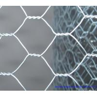 Hot Dip Galvanized Hexagonal Chicken Wire , PVC Coated Wire Mesh For Gabion Wall Manufactures