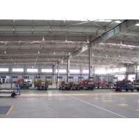 Q345b Grade Pre Manufactured Steel Buildings Light Weight Easy To Build Manufactures
