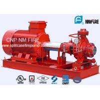 NFPA20 Package End Suction Fire Fighting Pump System 141~102 PSI Manufactures