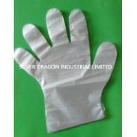 HDPE disposable gloves, Available sizes are S,M,L Manufactures