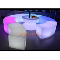 KTV Party Night Club LED Bar Furniture Rechargeable / LED Bar Table Counter Manufactures