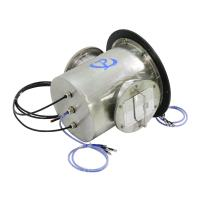 carbon brush slip ring Stainless Steel 316 Shell  high pressure rotary joint large current slip ring Manufactures