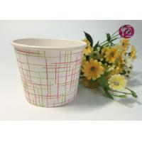 4oz Top 77mm Single PE Coated Disposable Soup Cups For Noodle Soup Manufactures