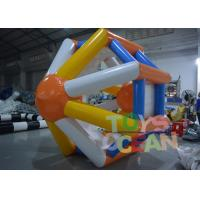 Floating Inflatable Water Game Inflatable Hamster Wheel Water Roller Manufactures